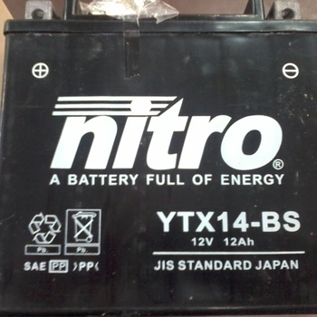 Batterie YTX14L-BS